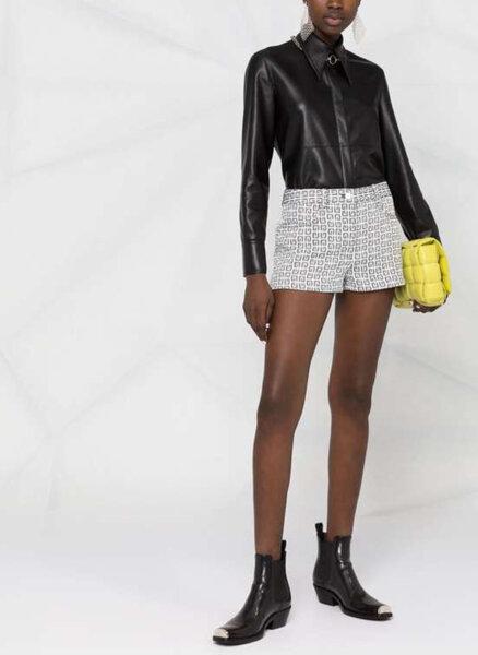 Къс панталон от деним Givenchy