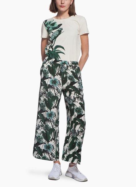 Панталон с флорален принт Weekend Max Mara Orietta