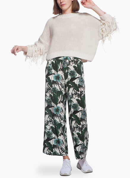 Пуловер с ресни Weekend Max Mara Estroso