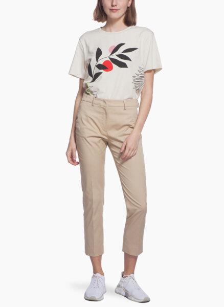 Панталон от памук Weekend Max Mara Faraone