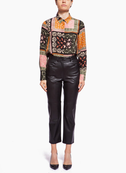 Панталон от еко кожа Marella Valdena