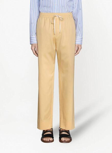 Памучен панталон Gucci