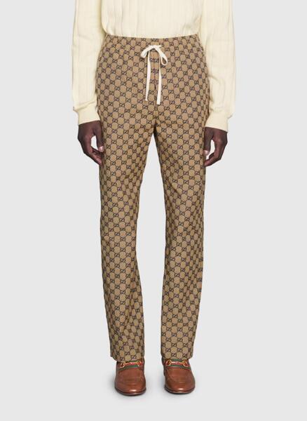 Панталон с monogram принт Gucci