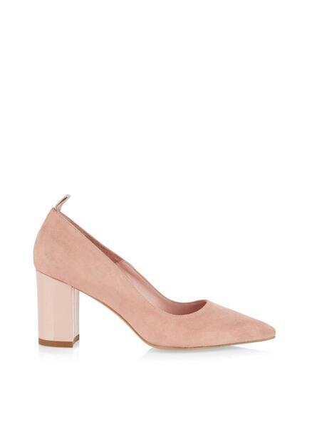 Велурени обувки на ток Marc Cain