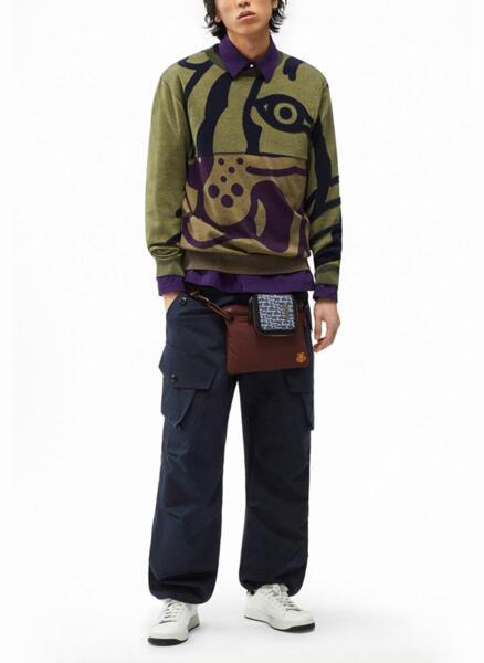 Пуловер с принт Kenzo