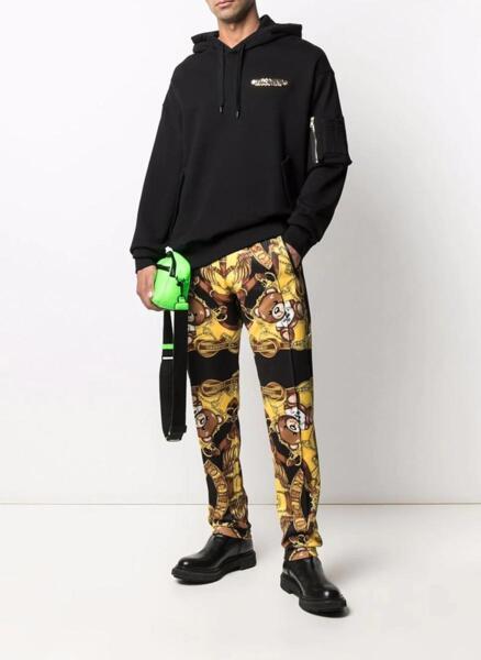 Jogging панталон Moschino с Teddy scarf принт