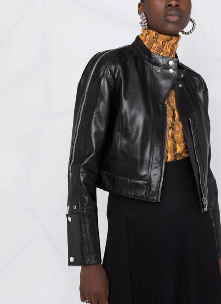 Яке от естествена кожа Givenchy
