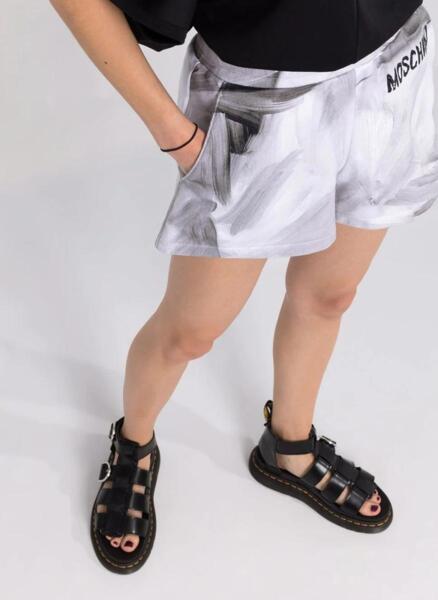Къси панталони с принт  Moschino Couture