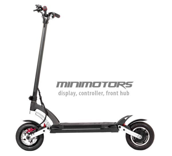 MANTIS 10 800W Minimotors LCD
