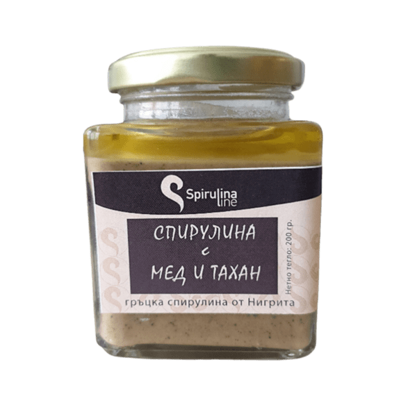 Спирулина с тахан и мед