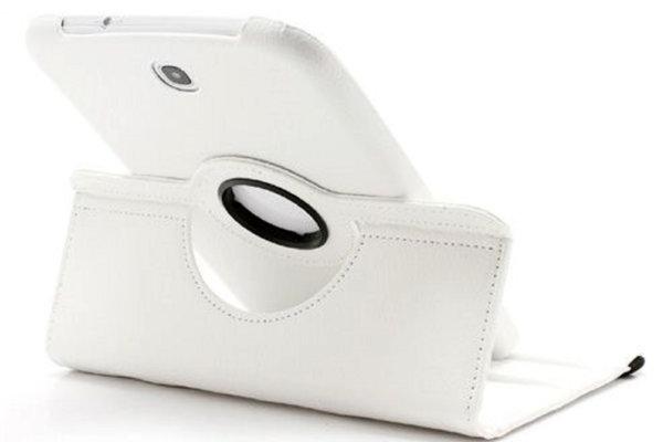 Кожен калъф за таблет Samsung Galaxy Note 8.0, GT-N5100 - бял