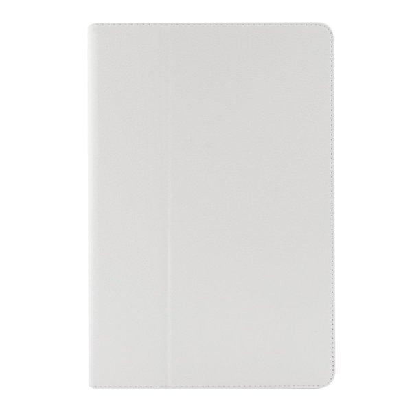 Кожен калъф флип за Sony Xperia Z3 Tablet Compact 8 инча - бял