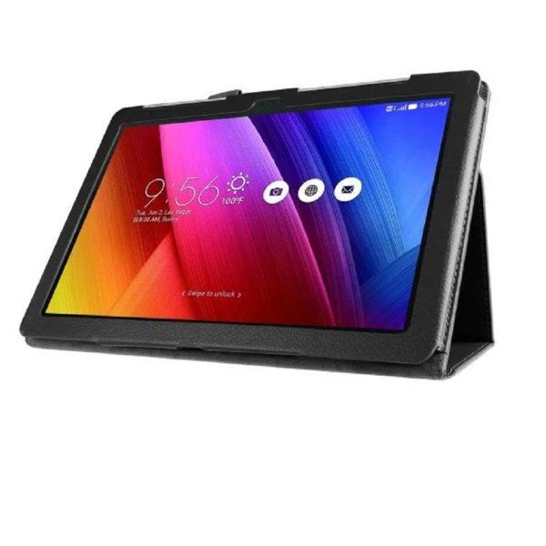 Кожен калъф флип за таблет Asus ZenPad 10 Z300 / Z301 - черен