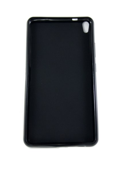 Силиконов гръб за Lenovo Phablet PB1-750M - черен