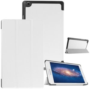 Калъф Smart Case за таблет Lenovo Tab 3 TB3-850, 8 инча - бял