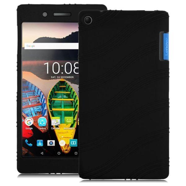 Силиконов гръб за Lenovo Tab 3 7 TB3-730X - черен