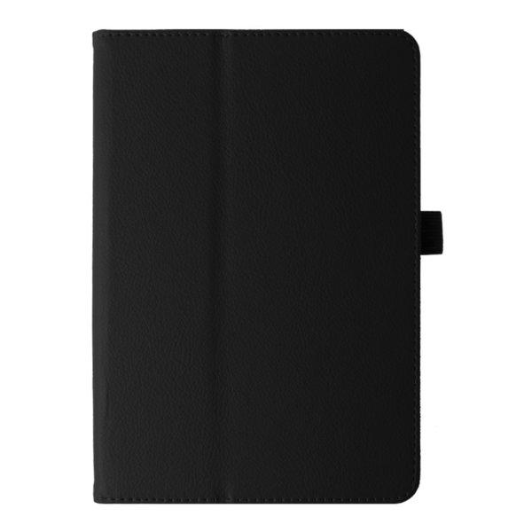 Кожен калъф флип за Samsung Galaxy Tab S3 9.7 инча - черен