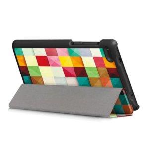 Калъф Smart Case за таблет Lenovo Tab 4 7 Essential TB-7304F - colorful
