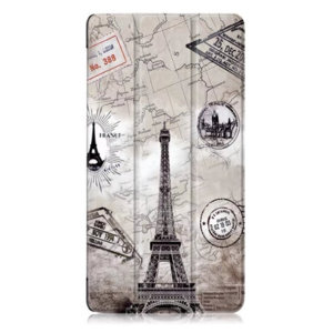 Калъф Smart Case за таблет Lenovo Tab 7 TB-7504 - Eiffel tower