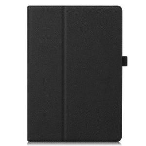 Кожен калъф флип за таблет Huawei MediaPad M5 10.8 - черен