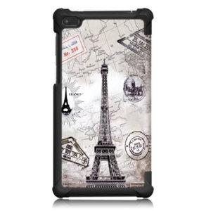 Калъф Smart Case за таблет Lenovo Tab 4 7 Essential TB-7304 - Eiffel tower