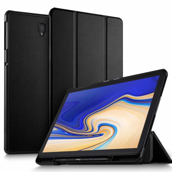 Калъф Smart Case за таблет Samsung Galaxy Tab S4 10.5 (2018) SM-T830, SM-T835 - черен