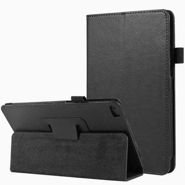 Кожен калъф флип за таблет Lenovo Tab E7  TB-7104 - черен