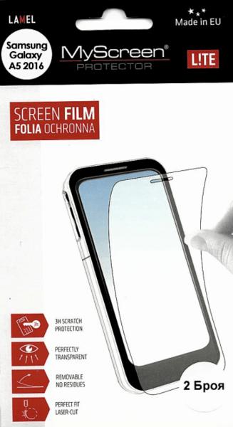 Кристално фолио за Samsung Galaxy A5 2016