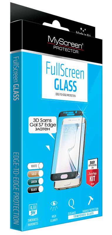 Закалено стъкло 3D Diamond glass за Samsung Galaxy S7 Edge