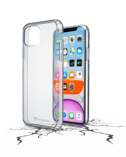 Прозрачен твърд калъф ClearDuo за iPhone 11