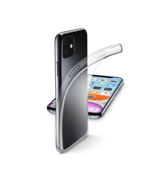 Прозрачен калъф Fine за iPhone 11