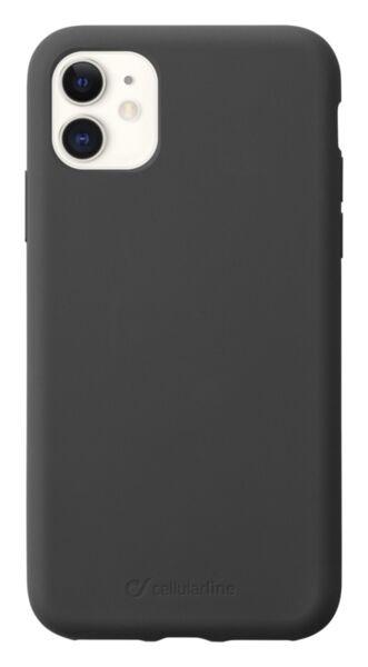 Луксозен калъф Sensation за iPhone 11, Черен