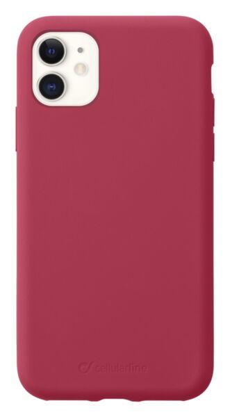 Луксозен калъф Sensation за iPhone 11, Червен