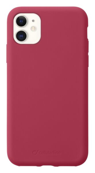 Матов калъф Sensation за iPhone 11, Червен