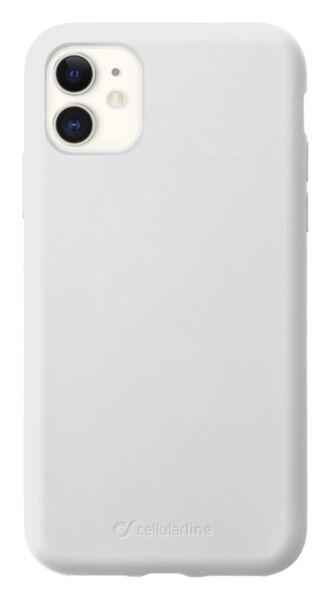 Луксозен калъф Sensation за iPhone 11, Бял