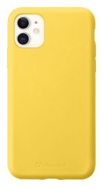 Матов калъф Sensation за iPhone 11, Жълт