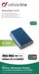Външна батерия Power Tank 10000 mAh, Синя
