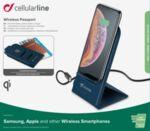 Безжично зарядно Cellularline Pаssport 220V 10W