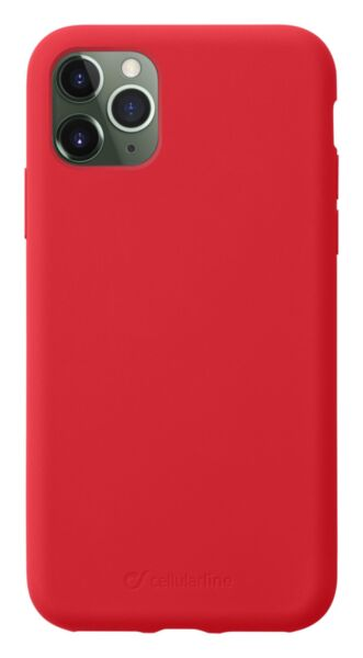 Луксозен калъф Sensation за iPhone 11 Pro, Червен