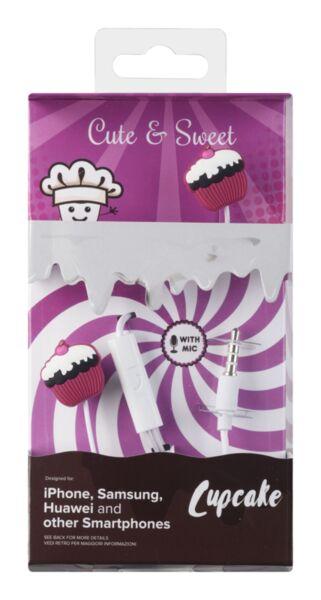 Слушалки за деца Cute & Sweet, Cupcake