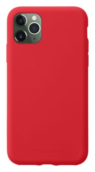 Луксозен калъф Sensation за iPhone 11 Pro Max, Червен