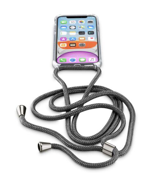 Калъф връзка за врат iPhone 11, Черен