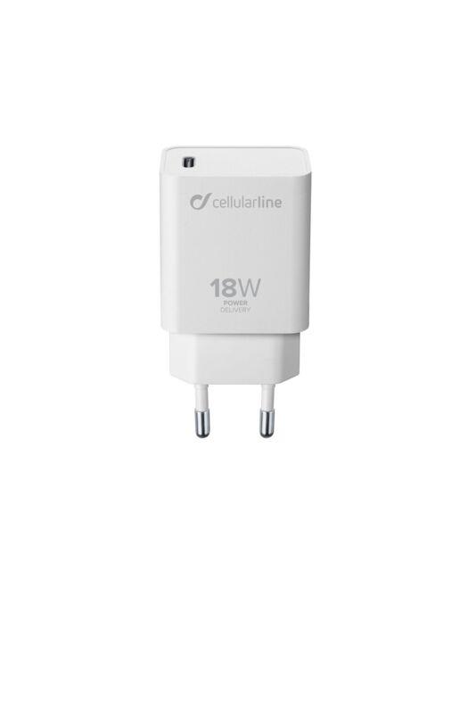 Зарядно с бързо зареждане Power Delivery USB-C, 18W