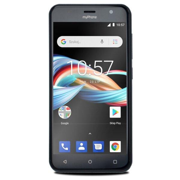 Телефон myPhone FUN 6 LITE, Черен