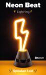 Bluetooth колонка Neon Beat, Светкавица