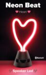 Bluetooth колонка Neon Beat, Сърце