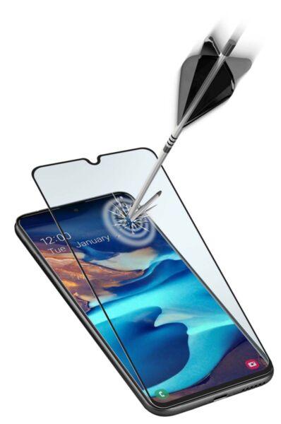 Закалено стъкло за Samsung Galaxy S10 Lite, Черно
