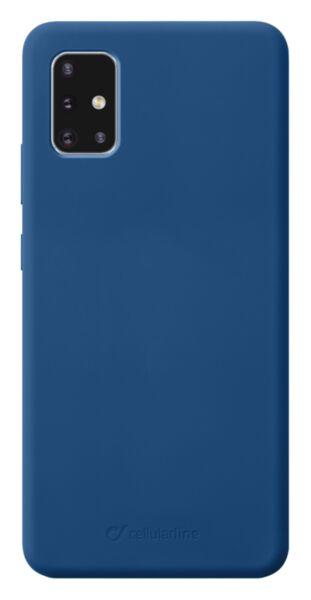 Луксозен калъф Sensation за Samsung Galaxy A51, Син