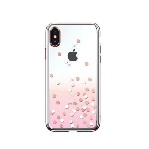 Калъф Devia Polka Crystal за iPhone XS Max