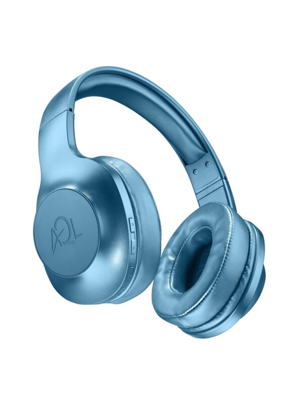 Bluetooth стерео слушалки Astros AQL, Сини